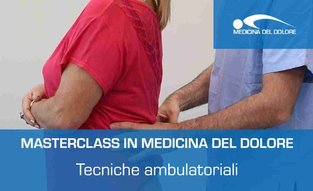 Masterclass medicina tecniche ambulatoriali